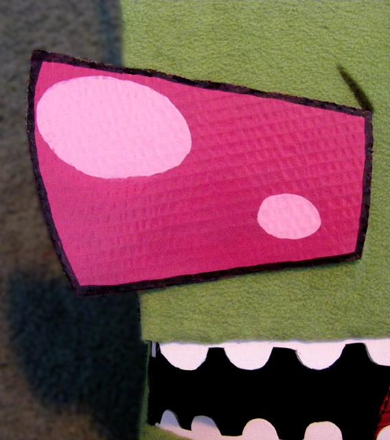 Zim Halloween Mask Teaser by WindWo1f
