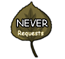Requests: Never by WindWo1f