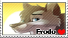 Frodo Stamp by WindWo1f