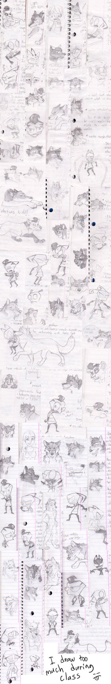 Margi-doodle Dump by WindWo1f