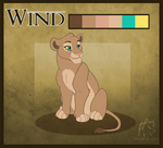 Wind Lion Reference Sheet