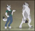 Anthro and Werewolf