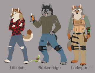 Werewolf Lineup by WindWo1f