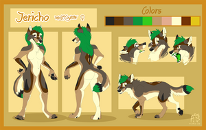 Jericho Reference Sheet  by WindWo1f