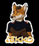 Iskko Badge