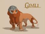 Lionized Gimli by WindWo1f