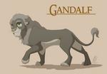 Lionized Gandalf by WindWo1f