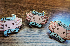 Love You a Lotl Pins by WindWo1f