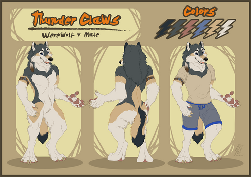 Thunder Claws Reference Sheet