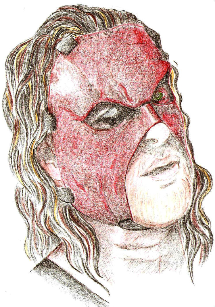 kane mask coloring pages - photo#5