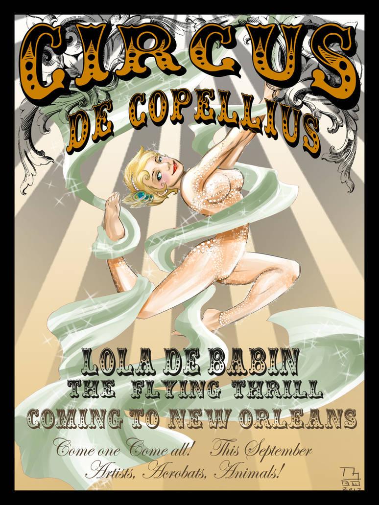 Circus Poster Lola De Babin