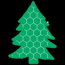 Honeycomb Tree Design