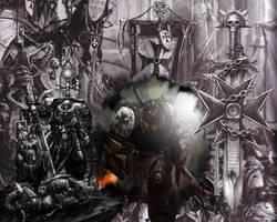 Black Templars by Martrix2k