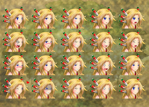 Legend of Mana: Heroine Expressions