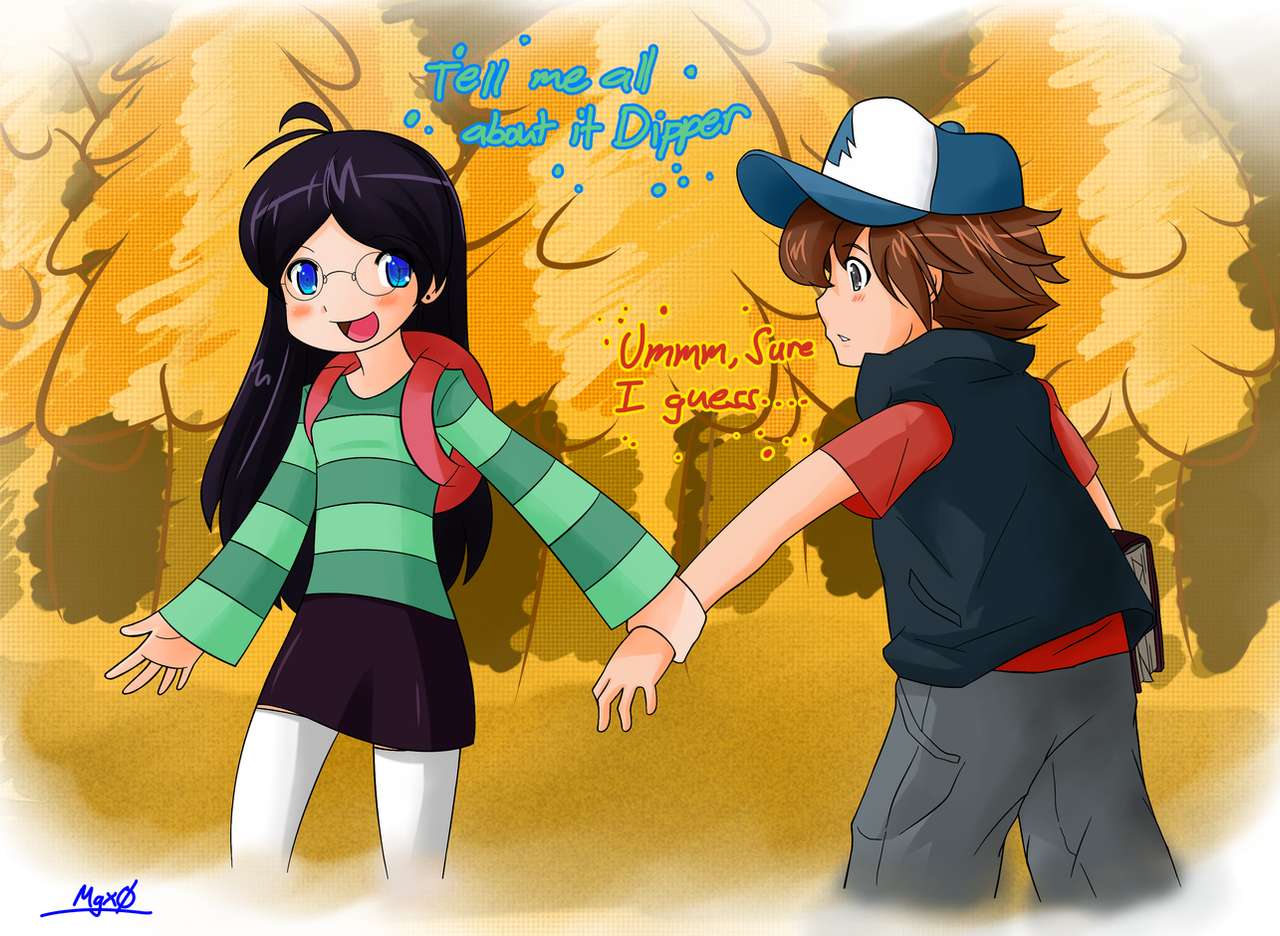 Gravity Falls Dipper And Candy Gravity Falls: ...