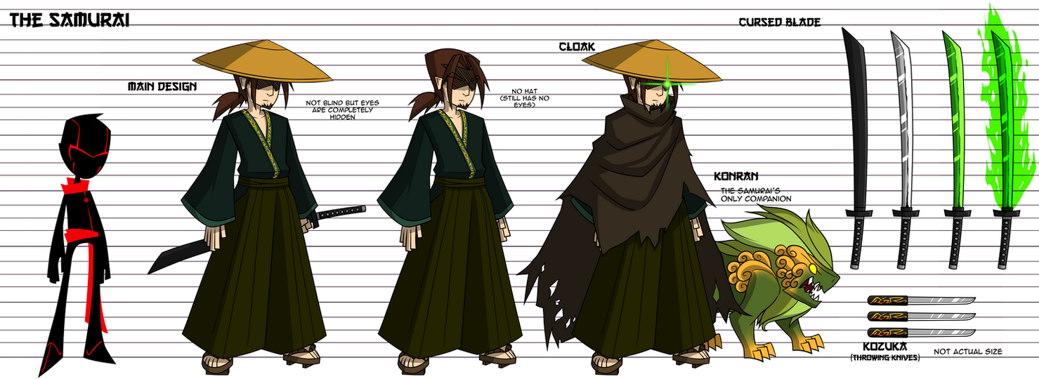 RC9GN - The Samurai by Mgx0