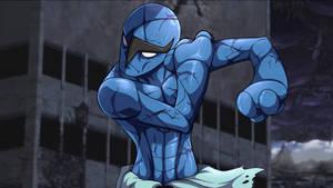 One Punch Mon: Sawk 'Water Fang'