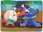 Pokemon Sun and Moon: Starters