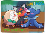Pokemon Sun and Moon: Starters