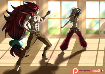 Commission: Sparring Partners by Mgx0