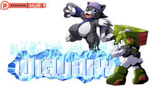 Patreon Reward: Digimon - January Banner