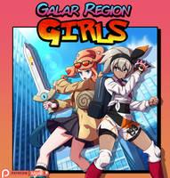 Commission: Galar Region Girls
