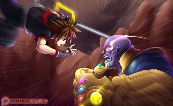Commission: Infinity Keyblade Wars