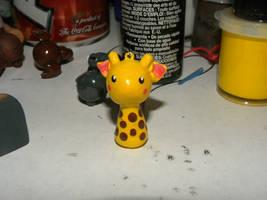 Giraffe Charm by F8iscruel