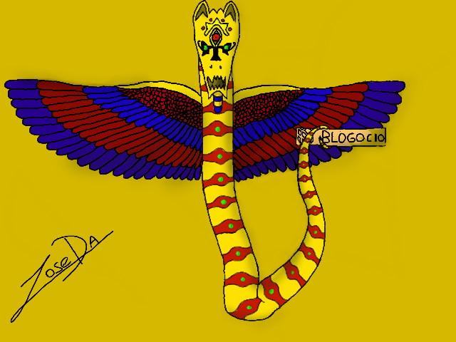 Osiris's Dragon by josedark
