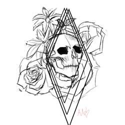 tat design 1 sketch by MindfulMystique