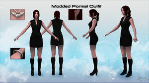 Mass Effect 3 Modded Formal Outfit Alpha Version
