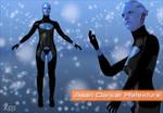 Mass Effect 3 - Asari Dancer Retexture for XPS