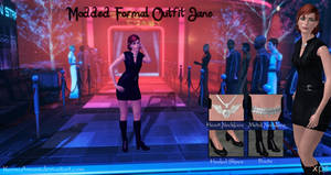 Mass Effect 3 - Modded Formal Outfit Jane for XPS
