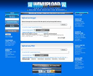 WinUpload.org Theme