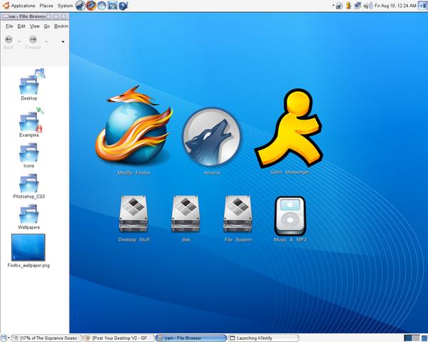 Desktop Screenie by Metal-CX