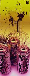 Graffiti Lives by Metal-CX