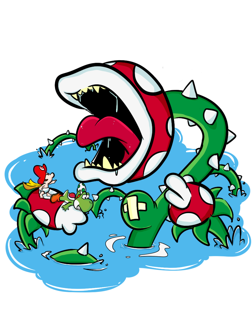 Yoshi Island Bosses Naval Piranha By H2roses On Deviantart