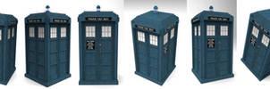 new whittaker TARDIS model
