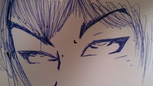 just another speed sketch of some eyes by ColdShower42