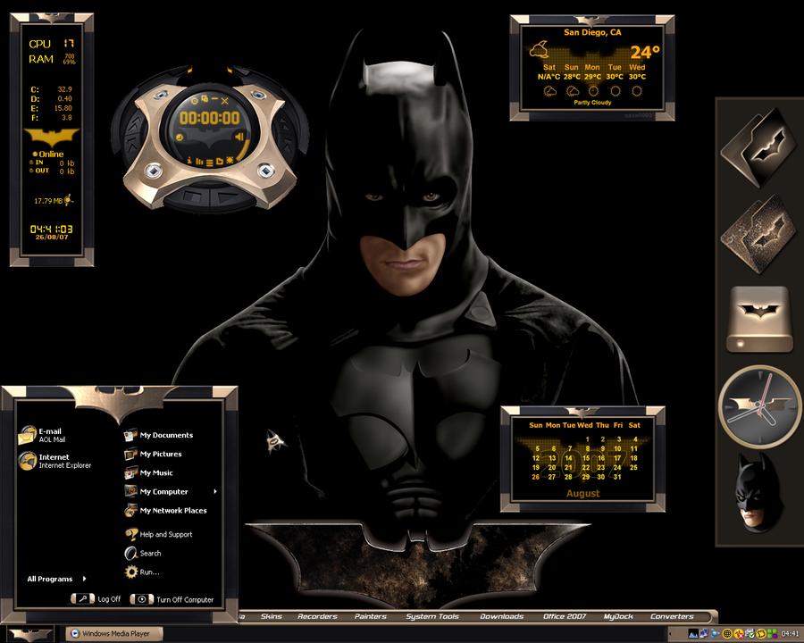 Ultimate Batman Desktop By A666a On Deviantart