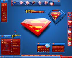 Ultimate Superman Desktop by a666a