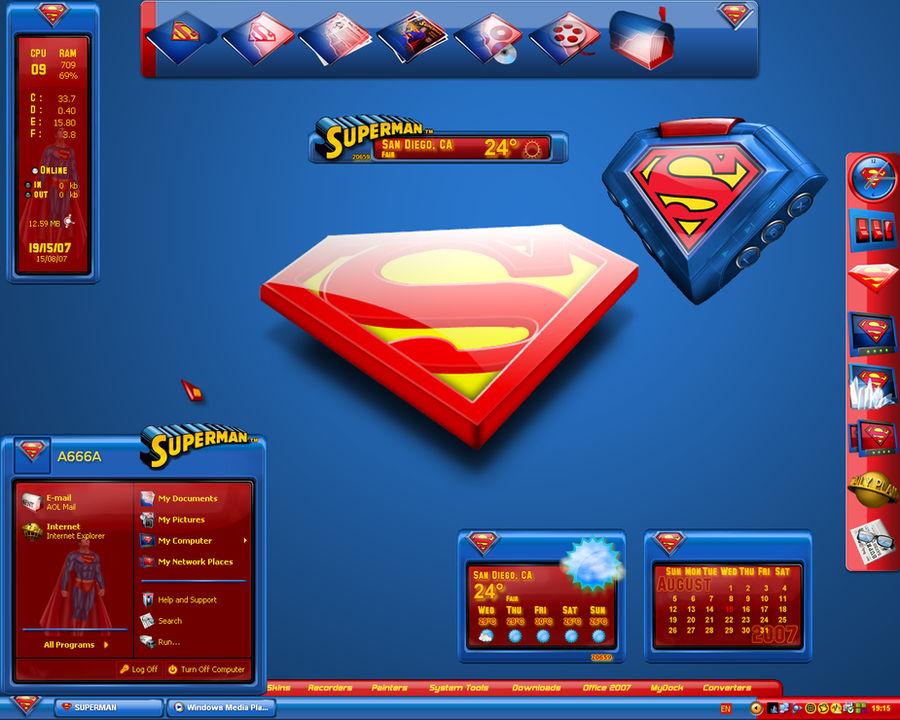 Ultimate Superman Desktop