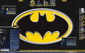 Batman Desktop by a666a