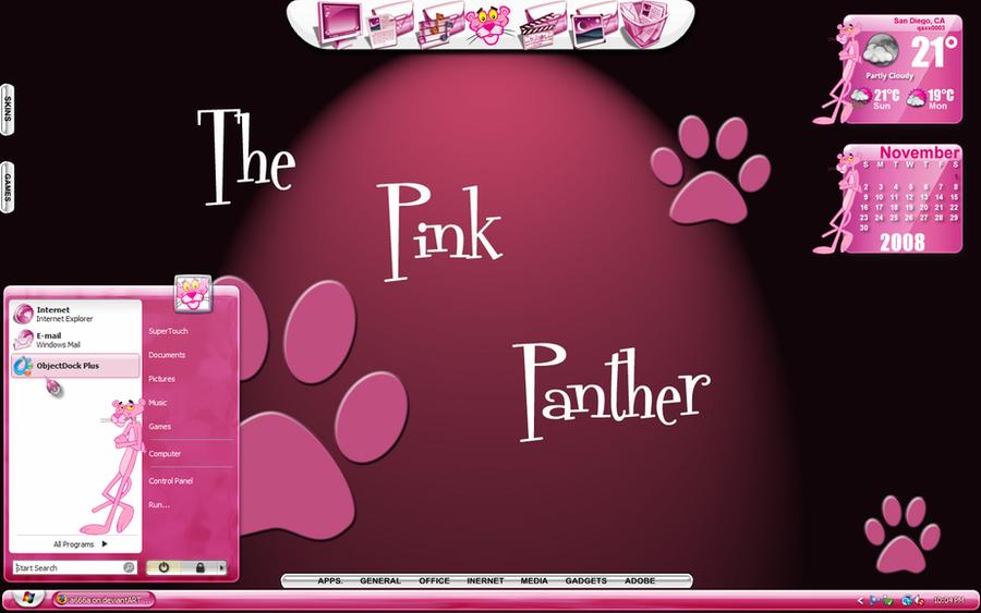 Pink Panther Desktop By A666a