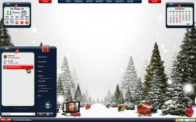 White Christmas Desktop