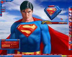 Superman Chris Reeves Desktop by a666a