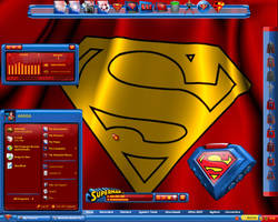 Superman's Cape Desktop by a666a