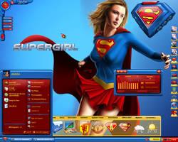 Supergirl Desktop by a666a