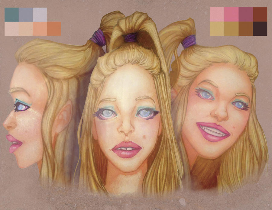 Blonde: Character Study by monsterloaf