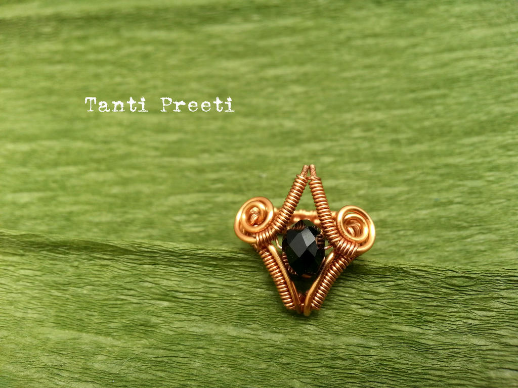 Copper Ring by SwathiCH